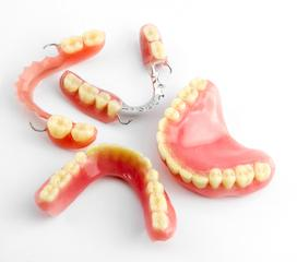 sets of full and partial dentures | candia NH dentures